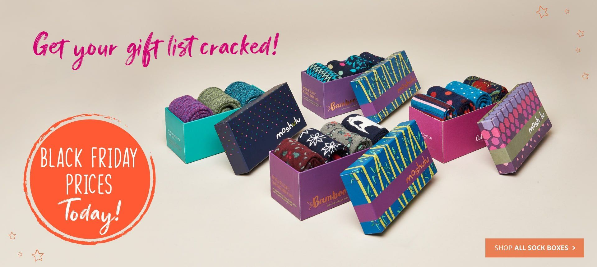 Get your gift list cracked!