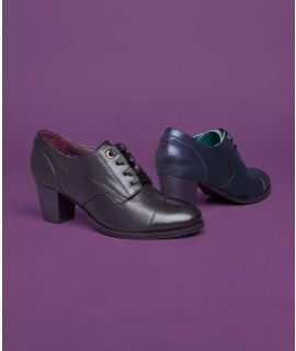 SHIELING 2 Leather lace-up heeled shoes