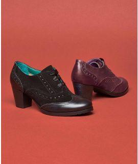 DEVORE 2 Heeled brogue shoes
