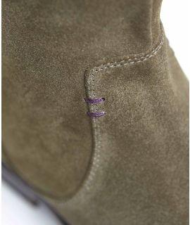 GLACIER SUEDE Slouchy suede boots
