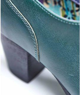 BATIK 2 Slip-on leather heeled shoes