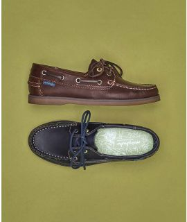 SALCOMBE WAXY Ladies Leather Boat Shoes