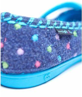 CARAMEL Mini-spot ballet slippers