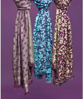 NEROLI Jacquard woven scarf
