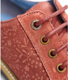 VALLEY Lace-up suede shoes