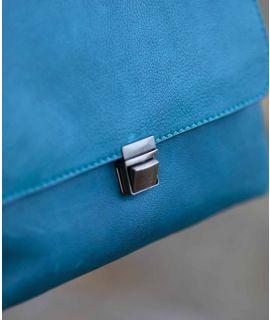 BUDBURST Leather shoulder bag