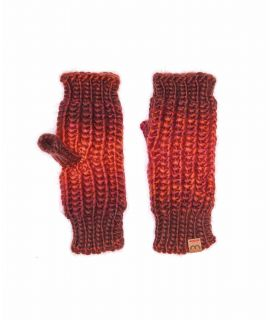 KILDA GLOVE Chunky knit fingerless gloves