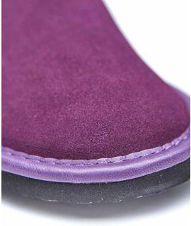 WESTON 3 Men's suede mule slippers.