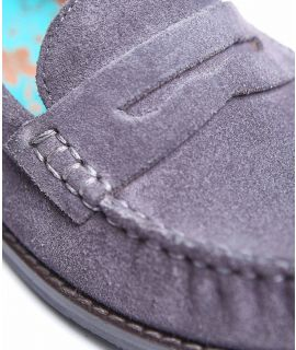PETREL SUEDE Ladies suede loafers