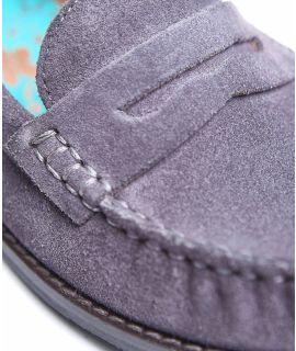 PETREL SUEDE Ladies suede loafers