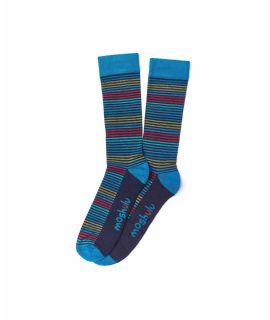 CATALPA Men's bamboo stripe socks