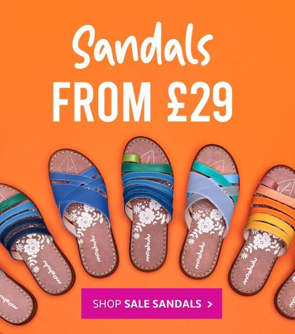 Sandals from £29