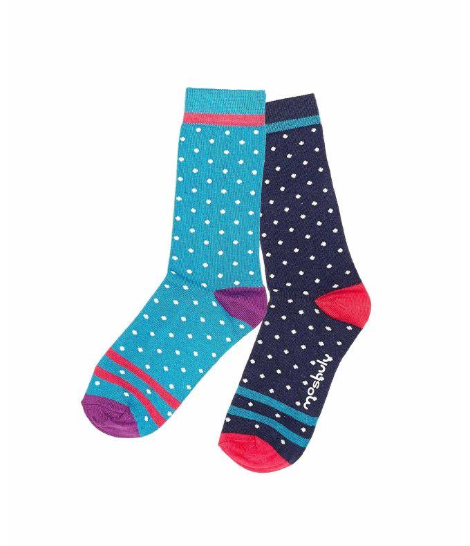 ECLAIR Ladies mini-spot socks
