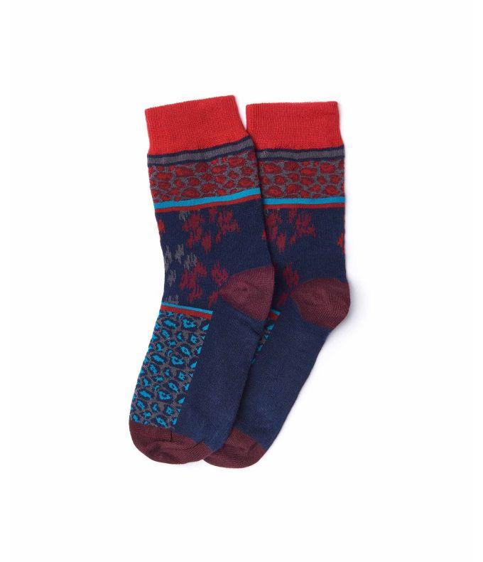 JAFFA CAKE Multi patterned socks
