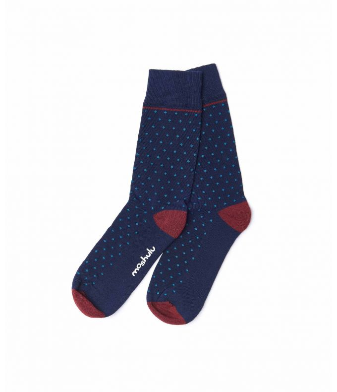 PARROTIA Men's cotton-rich socks