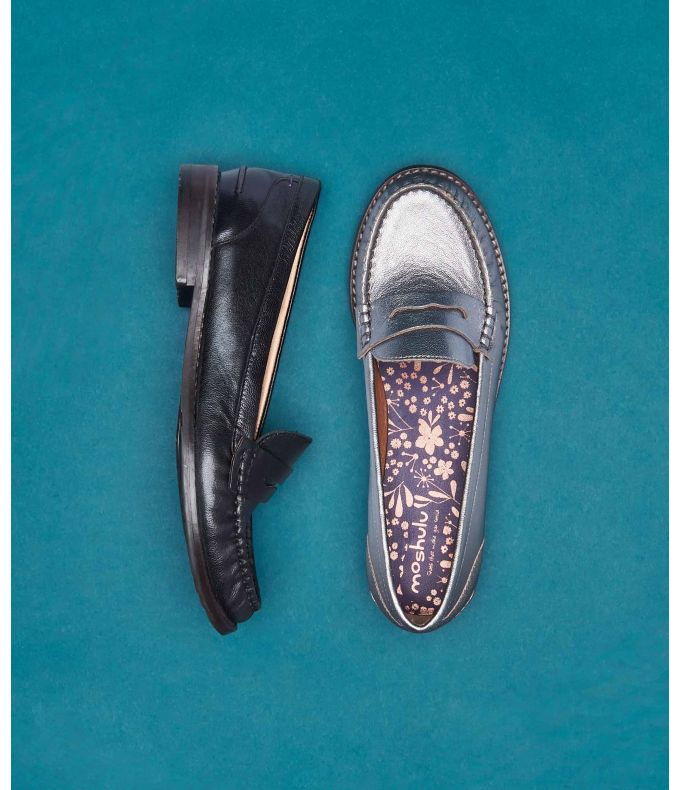 PETREL LEATHER Ladies classic leather loafers
