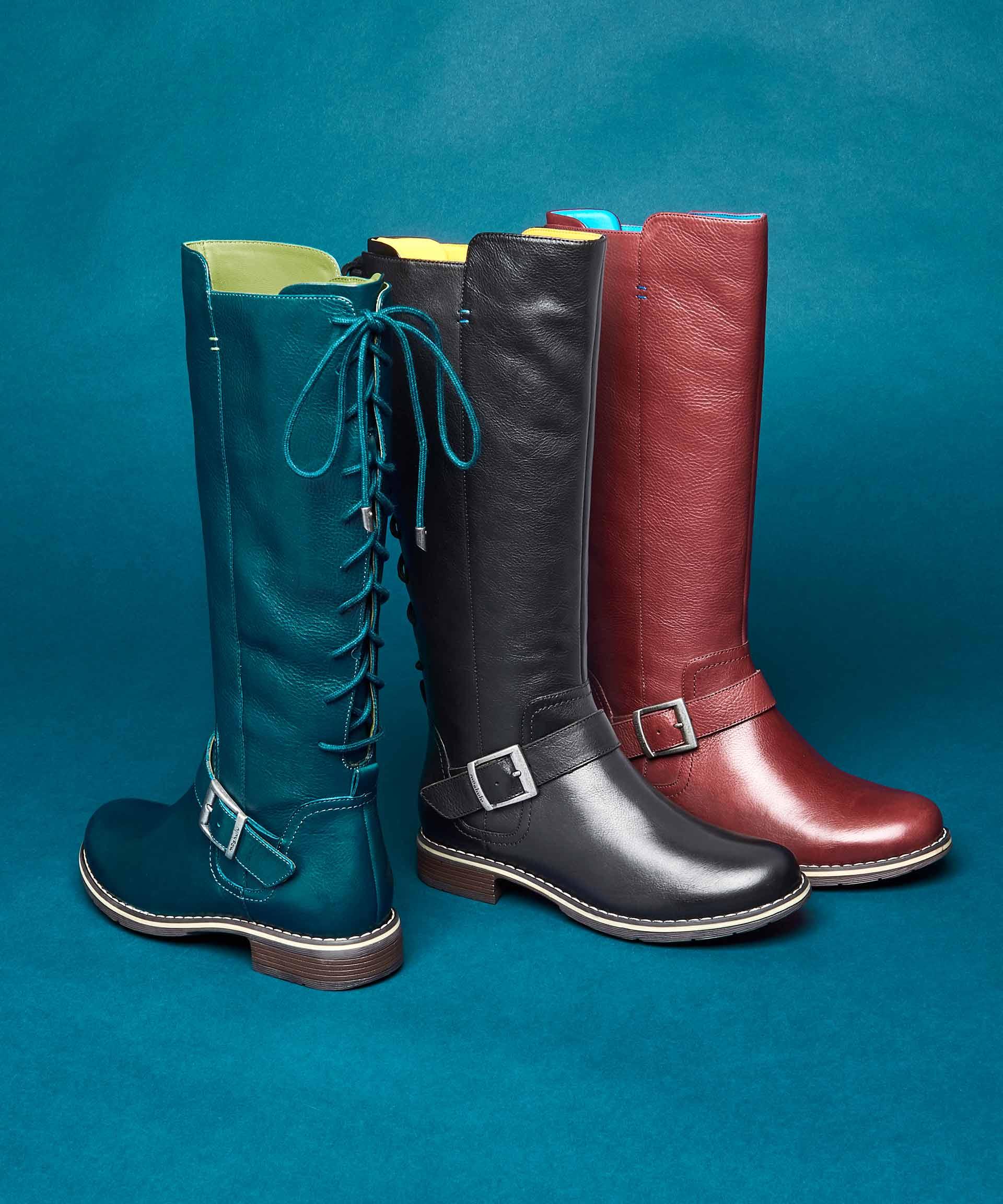 Knave ladies long boots