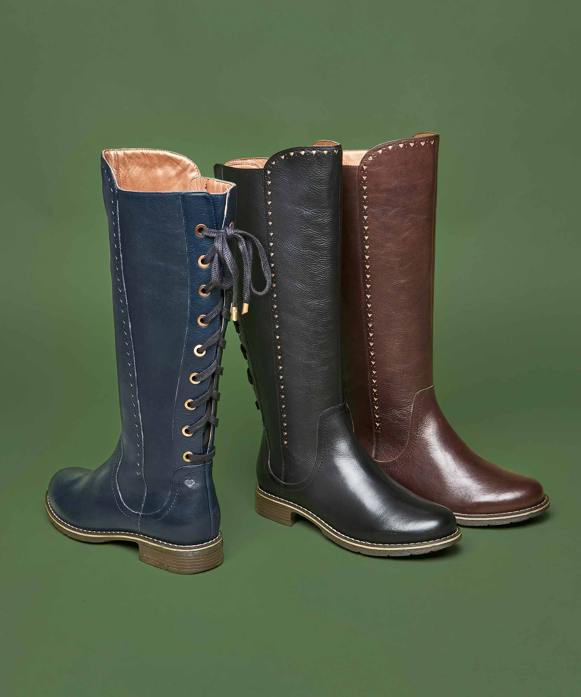 Oliver 2 ladies long boots
